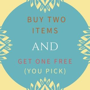 🌸 Buy Two Items And Get One Free 🌸
